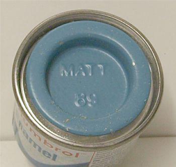 Humbrol 89 (matt) Enamel  Middle Blue AA0984