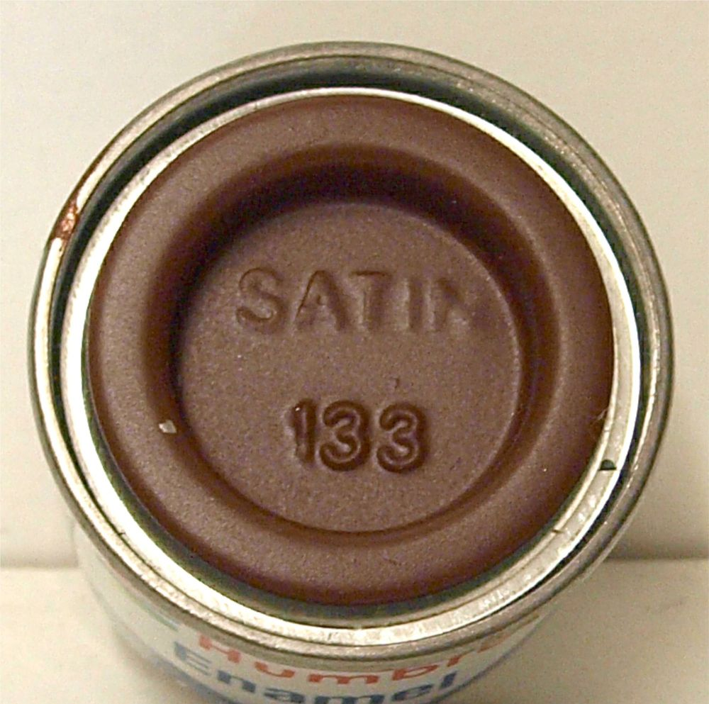 Humbrol 133  (Satin) Enamel   Brown  AA1465