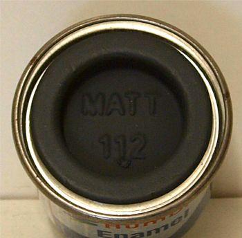 112  Humbrol (matt) Enamel  Field Blue AA0112