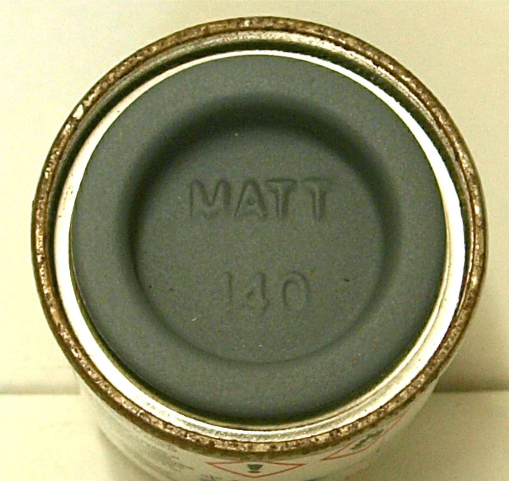 140  Humbrol (matt) Enamel  Gull Grey  AA1523