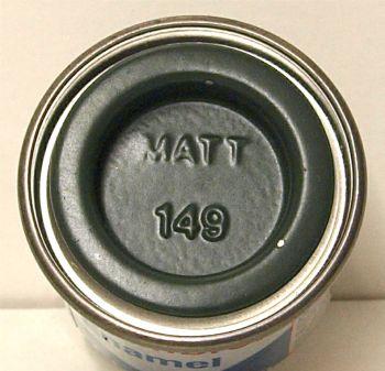 149 Humbrol (matt) Enamel  Dark Green  AA1612