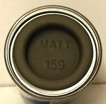 Humbrol 159  (matt) Enamel  Khaki Drab AA1729