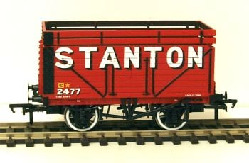 "Bachmann 37206A  8 plank wagon with coke rail ""Stanton"""