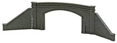 Peco NB34   Road Bridge Sides, stone type, double track