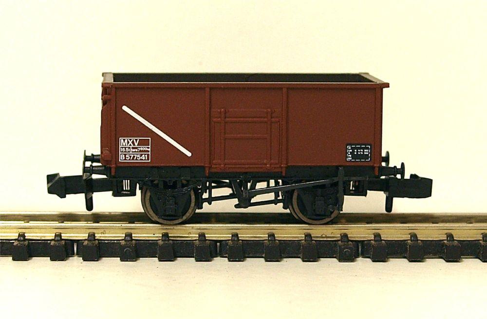 Graham Farish 377-253A    16 Ton Steel Mineral Wagon BR bauxite