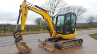 JCB 8050 RTS 5 Ton Excavator.