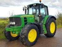 0007: John Deere 6830 Premium 4wd Tractor.