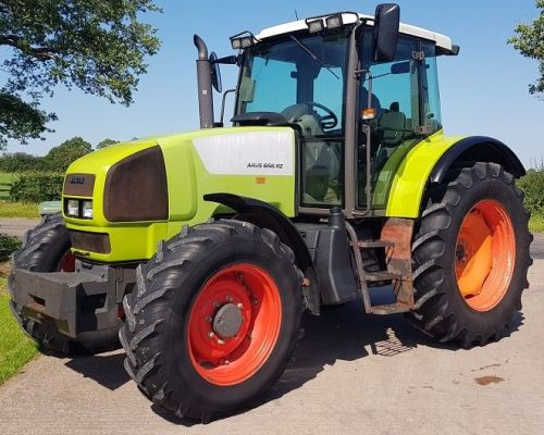 0149: Claas Ares  656RZ  4wd Tractor,  Year 2005.