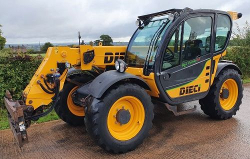 0152: Dieci 32.6 Agri Farmer Telescopic Handler, Year 2016 Registered.