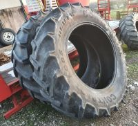 0306: 460/85 R38  Pair Continental AC85  Contract Tyres.