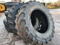 0308: 650 65 R38 Michelin  XM108 Tyres.