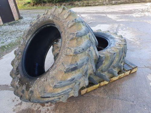 0313: 540/65 R30 Pair Trelleborg TM 800 High Speed Tyres