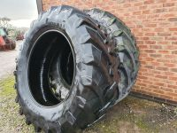 0317: 650 / 65 R42 Pirelli Tyres Matched Pair.