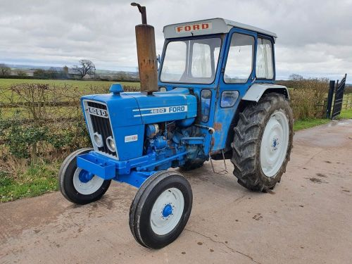 0020: Ford 4600 2wd Yard Tractor, 1975, 1 Owner From New.