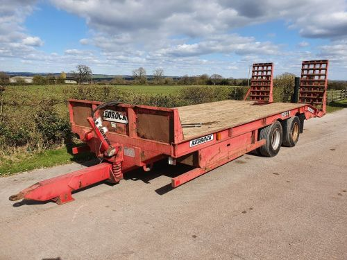 0140: Redrock 16Ton Tandem Axle Low Loader trailer