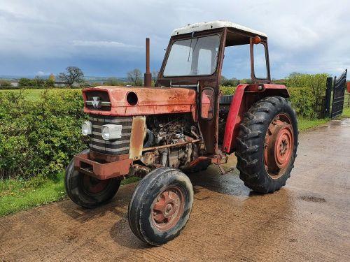 0094: Massey Ferguson 178 std 2wd Tractor.