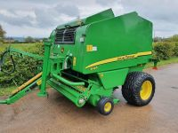 0102: John Deere 644 Round Baler. Only 8,300 Bales From New.