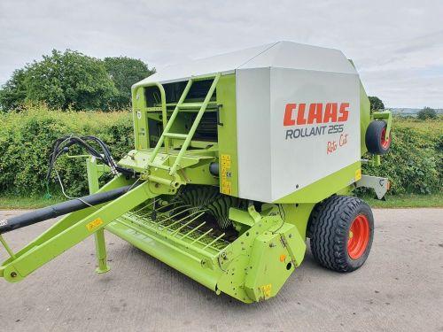 0123: Claas Rollant 255 Rotacut Round Baler