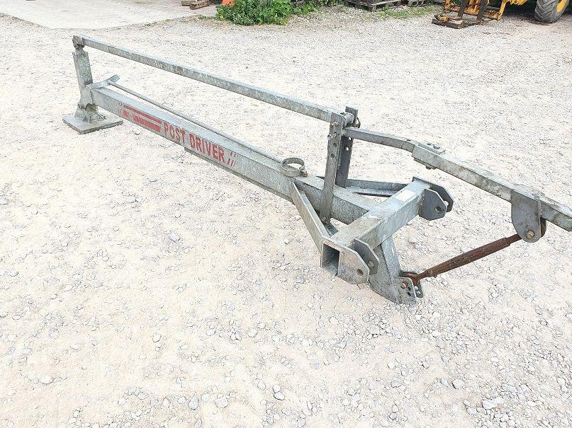 Galvanised Post Knocker (3)