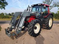 0004: Valtra N111 Tractor c/w Quickie Q50 Loader.