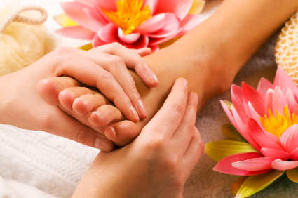 NEW feet massage flowers