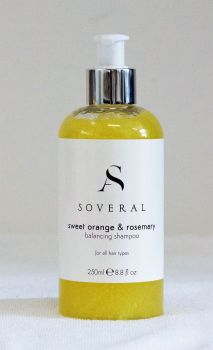 sweet orange & rosemary shampoo