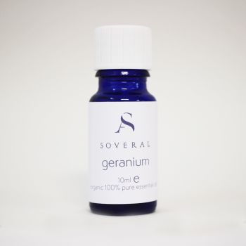 Geranium Organic Essential Oil - 10ml