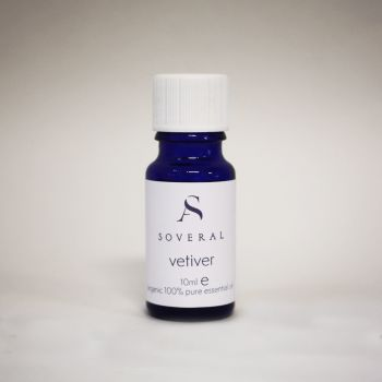 Vetiver Organic Essential Oil - 10ml