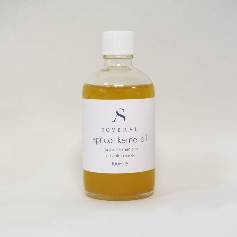 Soveral Organic Apricot Kernel Oil - Cold Pressed