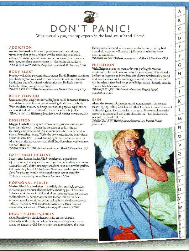 tatler spa guide 2012 as