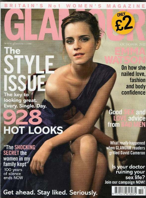 glamour oct 2012