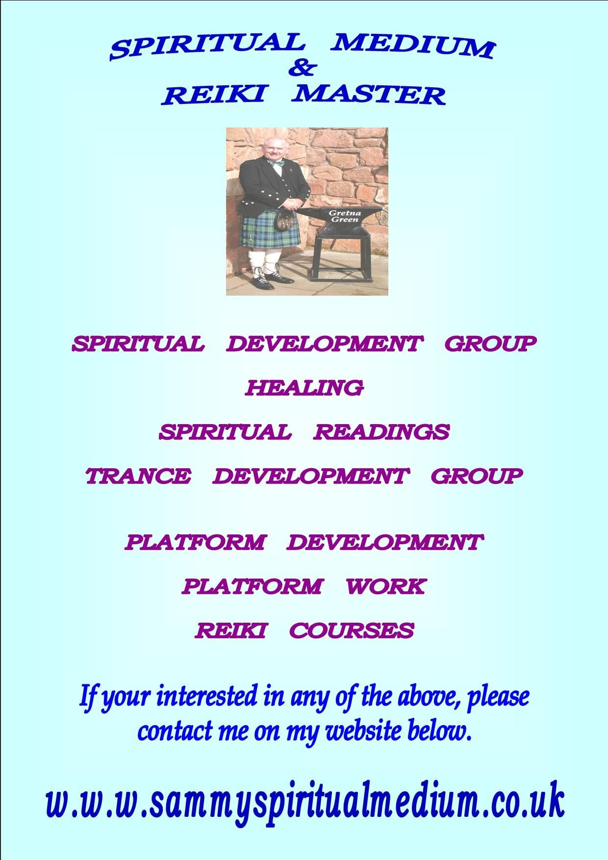 My Mediumship Advert
