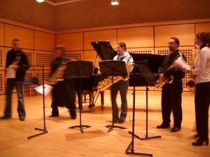 Sax day recital hall