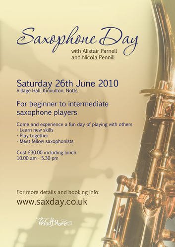 Saxophone Day June 2010