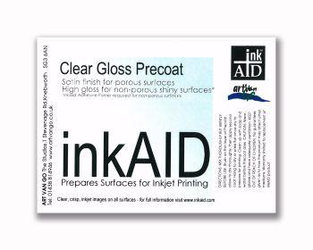 inkAID Clear Gloss Precoat