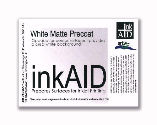 inkAID White Matte Precoat