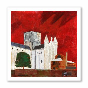 St. Albans Abbey - Greetings Card