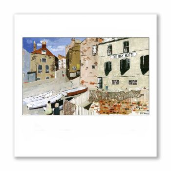 Robin Hoods Bay - Greetings Card