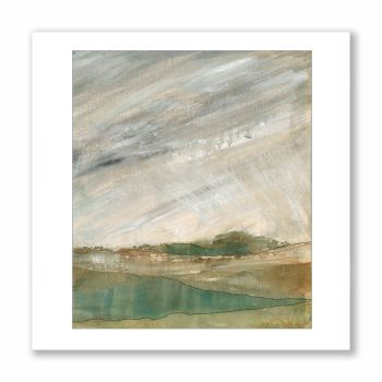 Rain coming in - Greetings Card