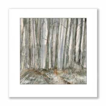 Twilight trees - Greetings Card
