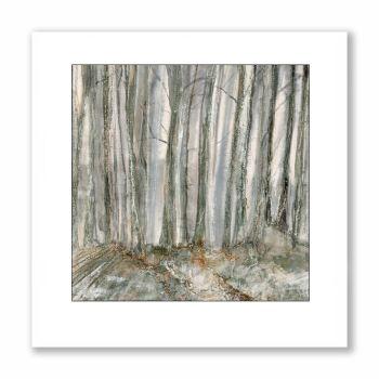 Twilight trees - Greetings Card