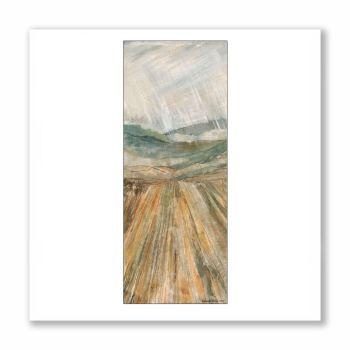 Rain coming in (detail) - Greetings Card