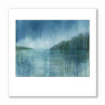 On The Water - Greetings Card