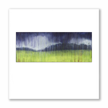 Spring Storm - Greetings Card