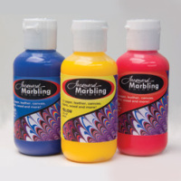 Jaquard Marbling Colours & Synthetic Gall