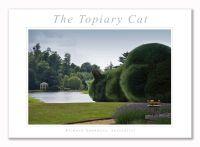Topiary Cat - Art Print - 29.5x42cm