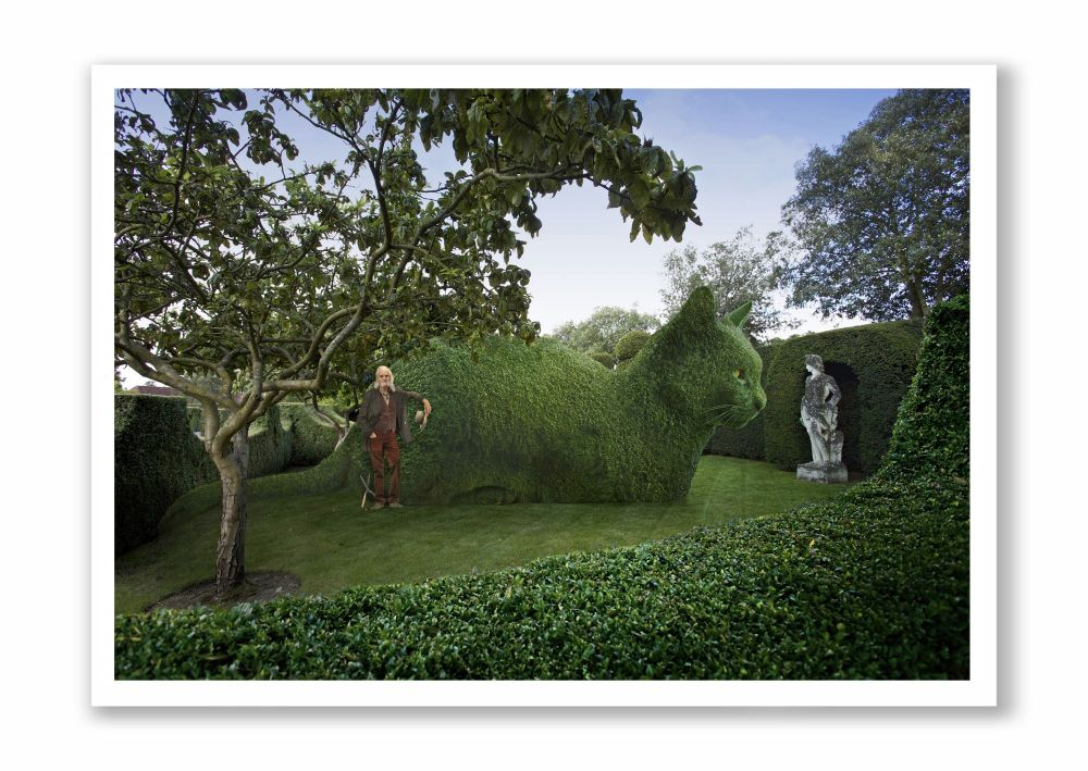 Topiary Cat - The Master And Me
