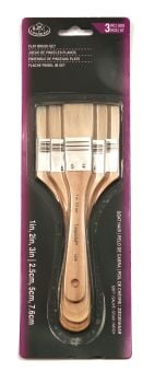 Economy Flat Brush Sets