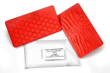 Mini Rubbing Plates 2 Pack
