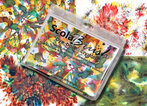 ScolaBrush - Dye-based Crystals Set